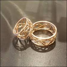 artisan wedding rings gold artisan wedding bands for and gregg