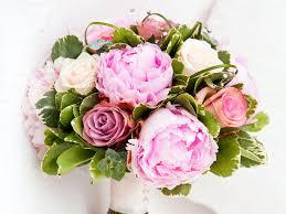 Peonies Bouquet Hydrangea And Peony Bouquet Wallpaper