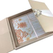 wedding box luxury acrylic wedding invitation cards luxury wedding