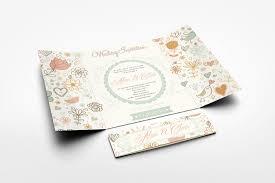 gatefold wedding invitations gatefold wedding invitation mockup on behance