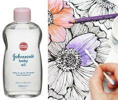 how to blend colored pencil drawings with rubbing alcohol carrie