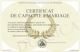 certificat de capacitã de mariage certificat de capacite a mariage