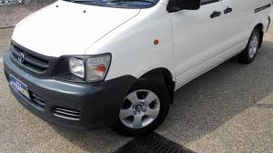 2003 toyota townace kr42r white 5 speed manual van youtube