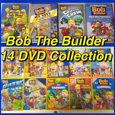 bob the builder 14 dvd lot great home collection wholesale lot