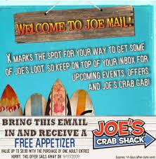 coupons for joe s crab shack joe s crab shack eats coupons