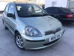 toyota yaris 2001 for sale toyota yaris 2001 for sale 84537en cyprus cars offer com cy