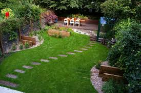 Backyard Landscaping Ideas For Privacy by Exterior Exotic Small Garden Landscaping Ideas Easy Small Yard