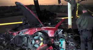 porsche gt crash investigators say speed caused paul walker s fatal crash rule out