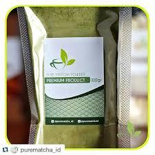 Teh Bubuk repost purematcha id with repostapp matcha greentea powder