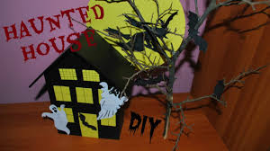 halloween decor diy haunted house youtube