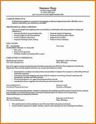 examples of resumes sample resume for job application in