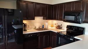 kitchen cabinets top coat kitchen in java gel stain and high performance top coat