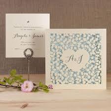 laser cut wedding programs wedding invitations cartalia