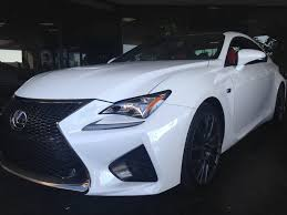 white lexus 2015 rcf white pearl with carbon package dealer today clublexus