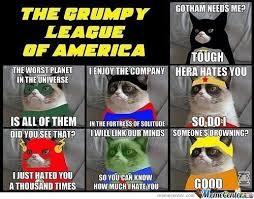 Grumpy Cat Meme Clean - grumpy cat superhero version by howkmohamad meme center