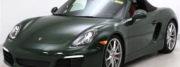 porsche british racing green british racing green pts boxster s