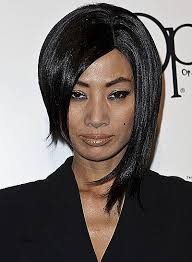 short hair one side and long other long hairstyles best of black hairstyles short one side long