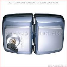 Double Glass Door by Mul T Lock Online Mul T Lock Glass Door Lock For Double Glass Doors