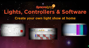syncrolight lights controllers and software for synchronised