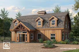 two barns house barn home kits dc structures