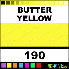 butter yellow fast dry enamel paints 190 butter yellow paint