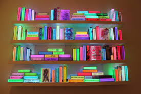 airan kang u0027s illuminated bookshelf arts observer