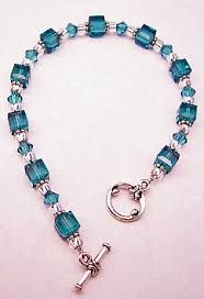 beading bracelet crystal images I had one like this and boo broke it must get this also teal jpg