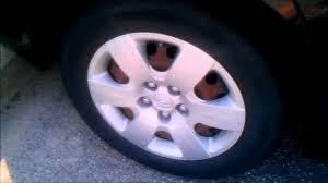 2005 hyundai elantra hubcaps wheel rust