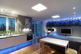 Apartment Lighting Ideas Modern Apartment Design With Led Lighting Home Design Garden