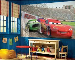 25 disney inspired rooms that celebrate color and creativity view in gallery modern bedroom with disney cars themed decor and wall decal from obedding