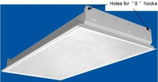 Kitchen Fluorescent Light Fittings Installing Lights Fans Ventilators In Suspended Ceilings