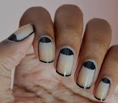 luxury nail designs half moon with tip ideas nail design