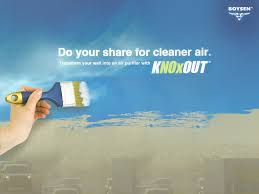 boysen knoxout air cleaning paint index