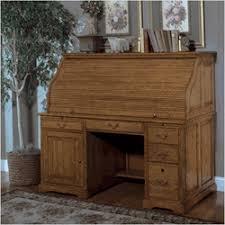 Roll Top Desk Oak Furniture Meridian 60