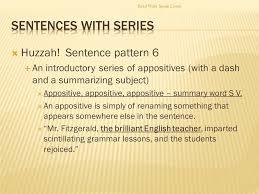 sentence pattern in english grammar ap english 11 sentences sentence types read write speak