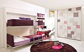 Purple Bunk Beds Bedroom Magnificent Modern Bunk Beds Ideas With Purple Bedding