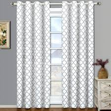 White Grey Curtains Curtain Grey Room Darkening Curtains Size Of Bedroom Bay
