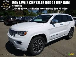 jeep grand cherokee limited 2017 white 2017 bright white jeep grand cherokee overland 4x4 115370625