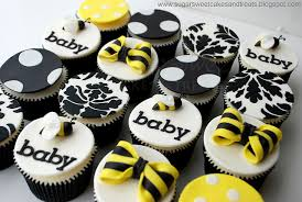bumble bee cupcakes bumble bee baby shower my practical baby shower guide