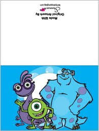monsters mike u0026 sully printable crafts free
