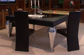 Pool And Ping Pong Table Transformer Tables Turn Dining Into Billiard And Ping Pong Fun