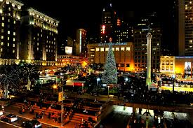 sf christmas tree lighting 2017 travel around american 1 middle land