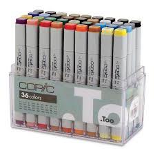 marker sets by copic original cheap joe u0027s art stuff