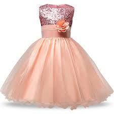 girls dresses for party and wedding princess dresses for children