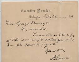 brown writing paper lincoln s ink preserving cornell s gettysburg address part 5 iron gall ink can vary in color starting black and becoming brown as it deteriorates the iron gall ink of this letter which accompanied cornell s