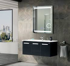 bathroom mirror heated bathrooms design bathroom mirror with clock illuminated vanity
