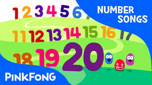 counting numbers 1 to 20 counting 1 to 20 number songs pinkfong songs for children