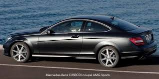 2013 mercedes c class c250 coupe mercedes c class c250 coupe amg sports specs in south africa