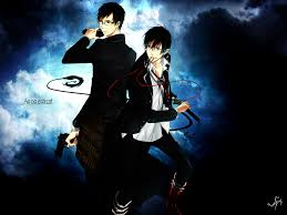 blue exorcist blue exorcist background hd 2560x1440 217 kb by berry backer