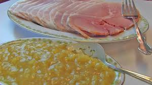 thanksgiving ham recipes with pineapple betty u0027s baked country ham with brown sugar pineapple sauce youtube